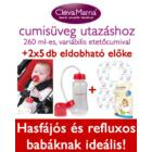 Clevamama Cumisüveg Utazáshoz (260 ml)