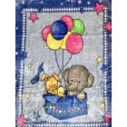 Pihe-puha, mesefigurás gyermek ágytakaró pléd