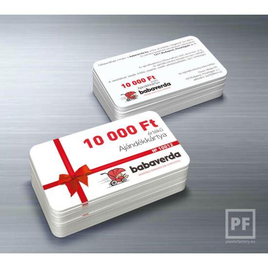 10.000 Ft Értékű Ajándékkártya