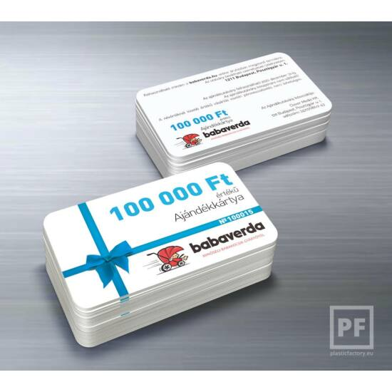 100.000 Ft Értékű Ajándékkártya